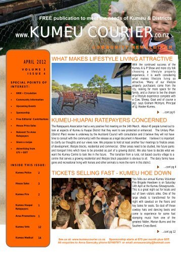Volume 3 Issue 4 - Kumeu Courier