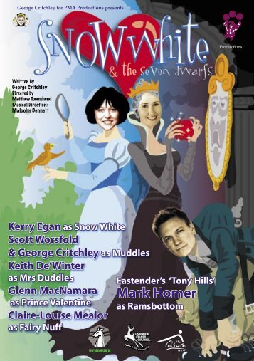 Snow White A5 inners - PMA Productions