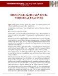 BROKEN VERTEBRAE - Vertebrae Fracture - Seite 3