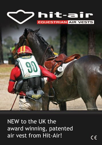 NEW to the UK the award winning, patented air ... - Elemental Equine