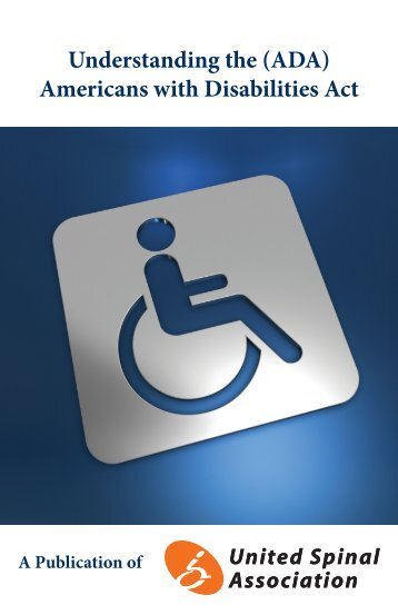 Understanding the (ADA) Americans with Disabilities Act