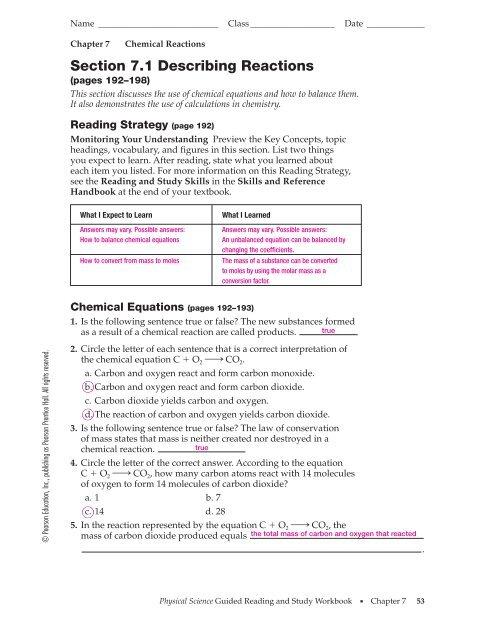 Ch7 Answer Key Pdf