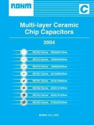 Multi-layer Ceramic Chip Capacitors
