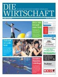 Die Wirtschaft Nr. 25 vom 18. Juni 2010