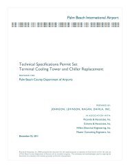 Technical Specifications Permit Set Terminal Cooling ... - Morganti