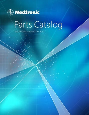 Parts Catalog MedtroniC Navigation 2010