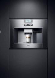 Gaggenau Espresso Vollautomaten - Lemm Bever