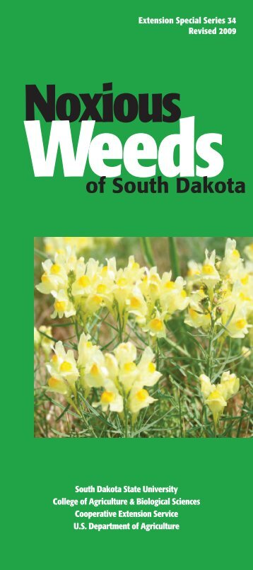 Noxious Weeds - South Dakota State University
