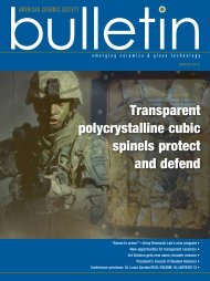 Transparent polycrystalline cubic spinels protect and defend
