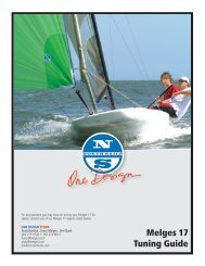 Melges 17 Tuning Guide - North Sails - One Design