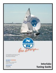Interlake Tuning Guide - North Sails - One Design
