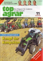 TopAgrar 11/09 - Spezielle-Agrar-Systeme GmbH