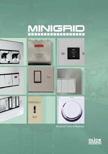 MiniGrid Plates & Modules