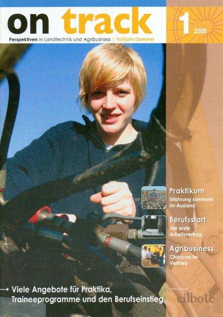 on track 1/2008 - Spezielle-Agrar-Systeme GmbH