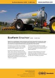 Prospekt EcoFarm Einachstank - Spezielle-Agrar-Systeme GmbH