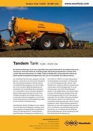 Prospekt Premium Tandemtank - Spezielle-Agrar-Systeme GmbH