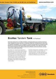 Prospekt EcoVac Tandemtank - Spezielle-Agrar-Systeme GmbH