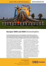 Prospekt Euroject Grünlandinjektor - Spezielle-Agrar-Systeme GmbH