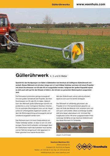 Prospekt Güllerührwerk - Spezielle-Agrar-Systeme GmbH