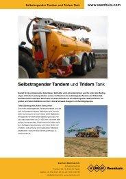 Prospekt Selbsttragender Tandem - Spezielle-Agrar-Systeme GmbH