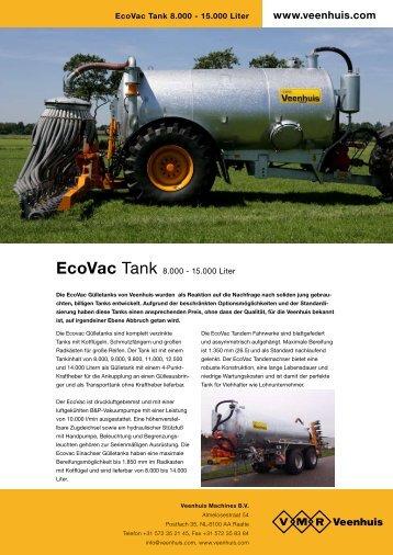 Prospekt EcoVac Einachstank - Spezielle-Agrar-Systeme GmbH
