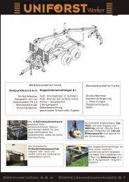 Prospekt Uniforst Worker - Spezielle-Agrar-Systeme GmbH