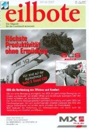 eilbote 01.11.2007 - Spezielle-Agrar-Systeme GmbH