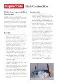 Hebel Supercrete Block Construction Brochure - Page 2