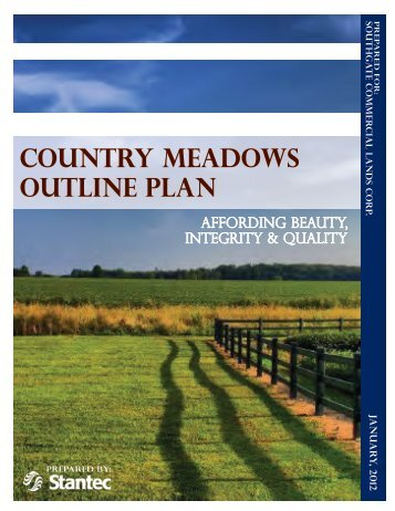 COUNTRY MEADOWS OUTLINE PLAN - City of Lethbridge