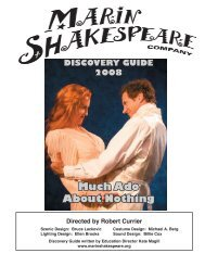 Much Ado About Nothing - Marin Shakespeare Company