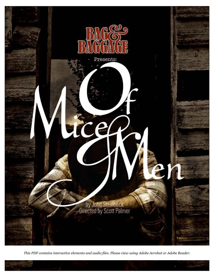 conflict essay of mice and men