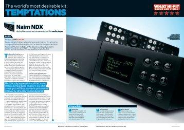 Naim NDX - Naim Audio