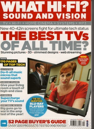 New 40-42in screens fight for ultimate tech status - Wadia Digital