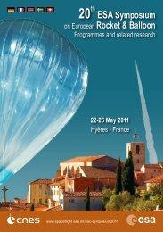ESA Symposium on European Rocket & Balloon