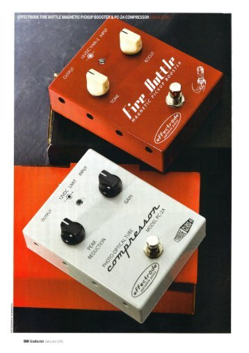 Guitarist Effectrode Fire Bottle Magnetic Pickup Booster and