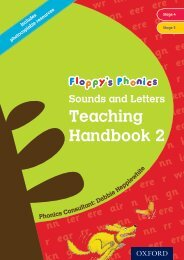 Floppy's Phonics Sounds and Letters Teaching Handbook - Oxford ...