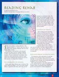 Reading Rehab - American Stroke Association