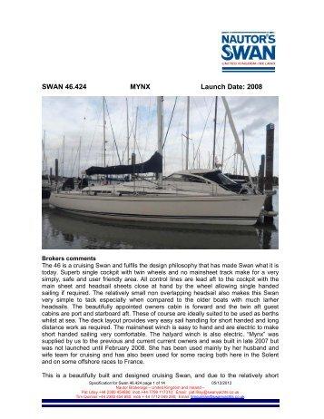 Swan 46 Frers - NAutor's Swan UK