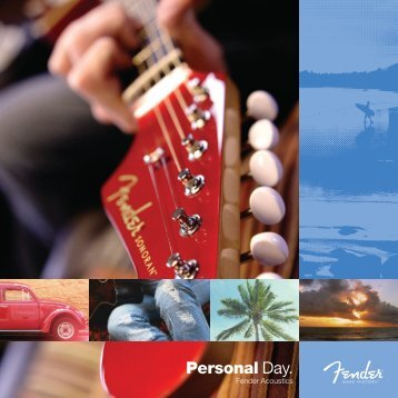 Personal Day. - Fender