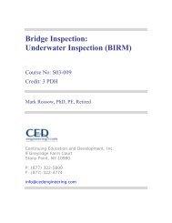 Bridge Inspection: Underwater Inspection (BIRM) - CED Engineering
