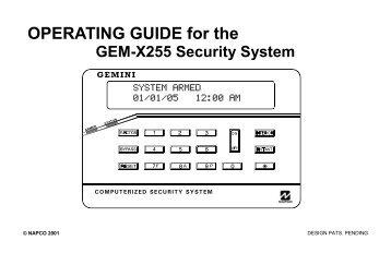 gem x255 user guide napco?quality=85 gem rp3dgtl digital keypad napco gem-p1632 wiring diagram at panicattacktreatment.co