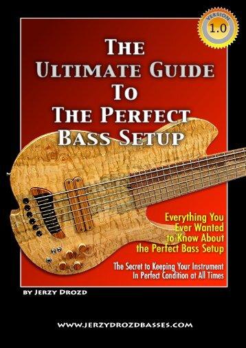 guide to perfect bass setup-english - Jerzy Drozd Basses