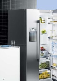 Siemens Kühl- und Gefriergeräte - Lemm Bever
