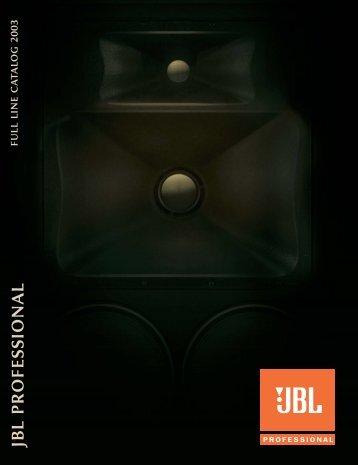 JBL Full Line Catalog - Iceco