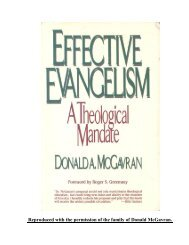 Effective Evangelism - Elmer Towns