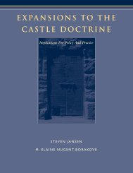 expansions to the castle doctrine - National District Attorneys ...