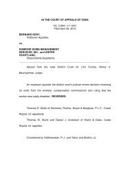 No. 2-064 / 11-1041 - Iowa Judicial Branch