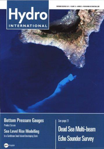 Bottom Pressure Gauges - Elac-Nautik