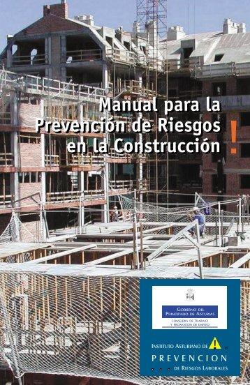 Manual para la Prevención de Riesgos en la Construcción