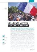 LES JEUNES MOTIVÉS CONTRE LE RACISME - Page 5